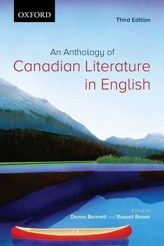 9780195427813: An Anthology of Canadian Literature in English