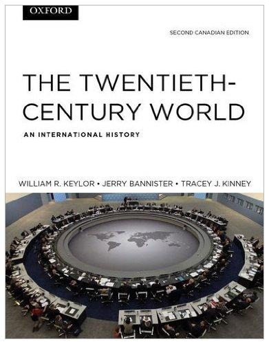 9780195429022: The Twentieth Century World: An International History