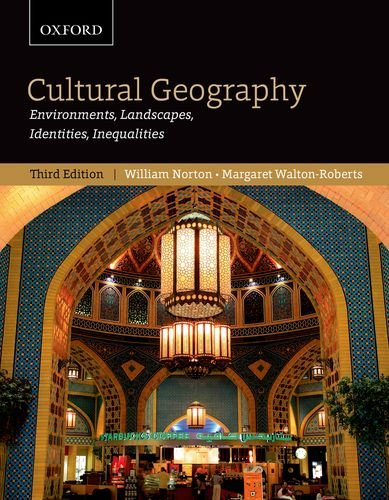 9780195429541: Cultural Geography: Environments, Landscapes, Identities, Inequalities, third edition