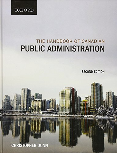 9780195429831: The Handbook of Canadian Public Administration