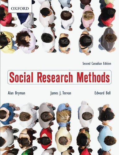 9780195429862: Social Research Methods: Second Canadian Edition