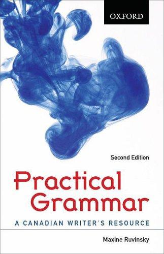 9780195430141: Practical Grammar A Canadian Writer's Resource