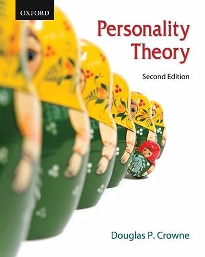 9780195430202: Personality Theory