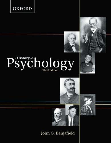 9780195430219: A History of Psychology