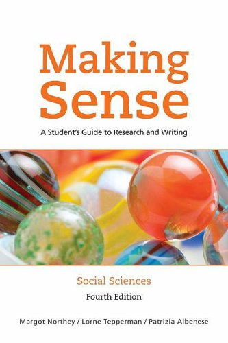 9780195430578: Making Sense In the Social Sciences: A Student's Guide to Research and Writing