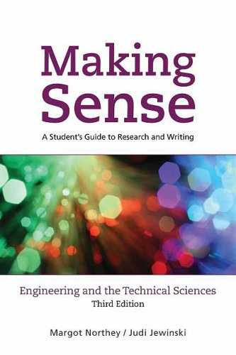 9780195430585: Making Sense in Engineering and the Technical Sciences: A Student's Guide to Research and Writing