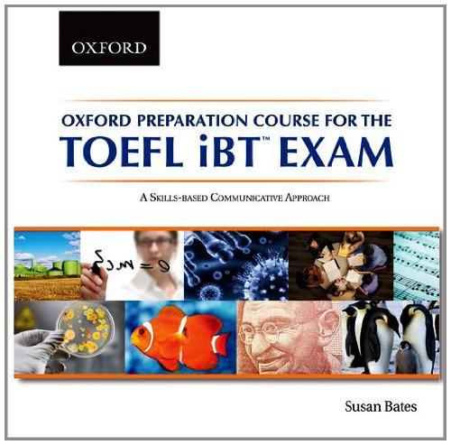 9780195431186: Oxford Preparation Course for the TOEFL iBTTM Exam Audio CDs (6)