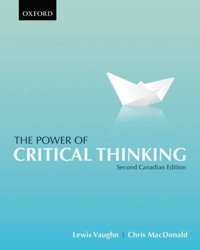 9780195431223: The Power of Critical Thinking: Second Canadian Edition