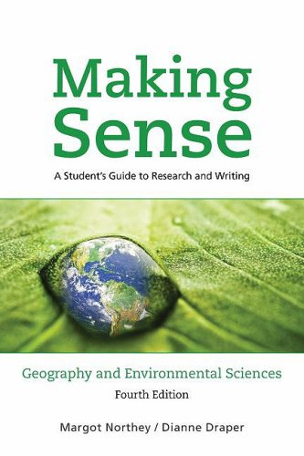 9780195431384: Making Sense in Geography and Environmental Sciences: A Student's Guide to Research and Writing