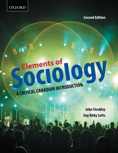 9780195431667: Elements of Sociology: A Critical Canadian Introduction