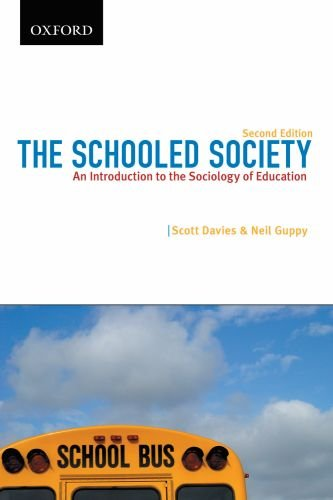 9780195431742: The Schooled Society: An Introduction to the Sociology of Education (Themes in Canadian Sociology)