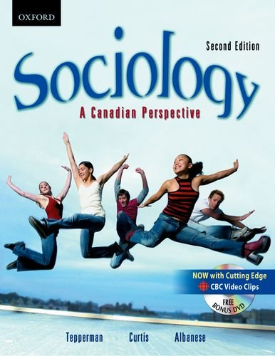 9780195433609: Sociology: A Canadian Perspective