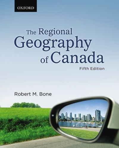 9780195433739: The Regional Geography of Canada