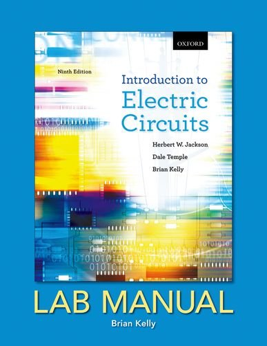 9780195438147: Introduction to Electric Circuits: Lab Manual