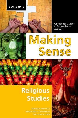 9780195439526: Making Sense in Religious Studies: A Student's Guide to Research and Writing