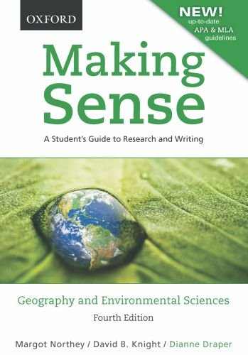 9780195440027: Making Sense in Geography and Environmental Sciences: A Student's Guide to Research and Writing, Revised with up-to-date MLA & APA Information (Check ... this occurrence: |c MS |t Making Sense)