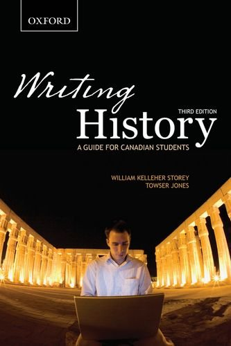 9780195440126: Writing History: A Guide for Canadian Students