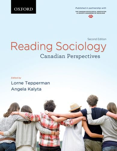 9780195441291: Reading Sociology: Canadian Perspectives