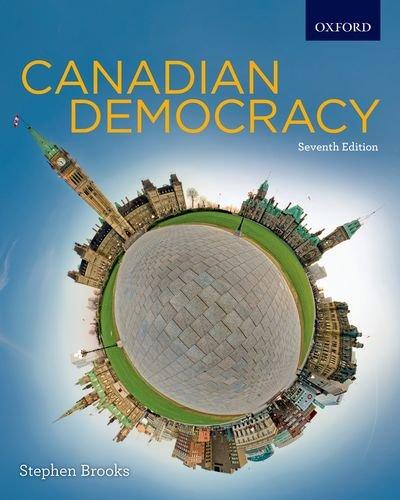 9780195441550: Canadian Democracy