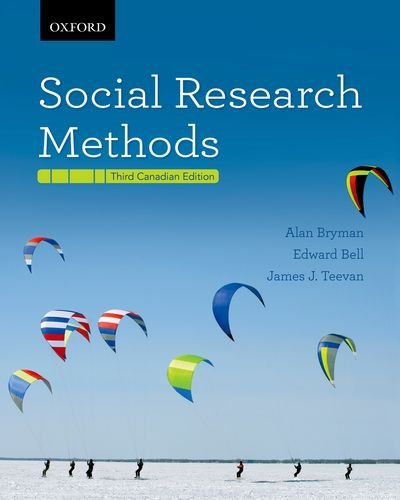 9780195442960: Social Research Methods Third Canadian Edition