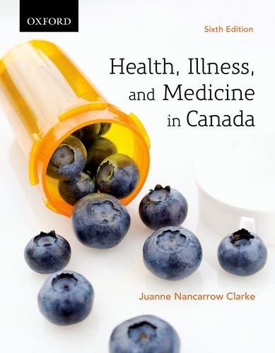 9780195443295: Health, Illness, and Medicine in Canada