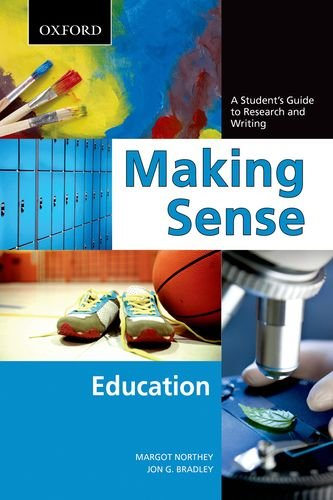 9780195443721: Making Sense in Education: A Student's Guide to Research and Writing