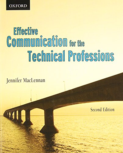 9780195444681: Effective Communications for the Technical Professions