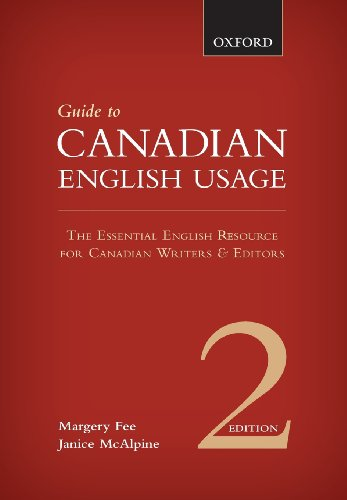 9780195445930: Guide to Canadian English Usage: Reissue