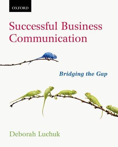 9780195446555: Successful Business Communication: Bridging the Gap