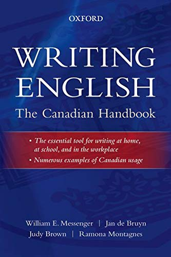 9780195446586: Writing English: The Canadian Handbook