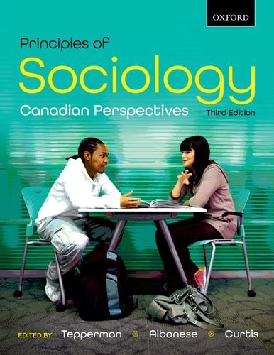 9780195446661: Principles of Sociology: Canadian Perspectives