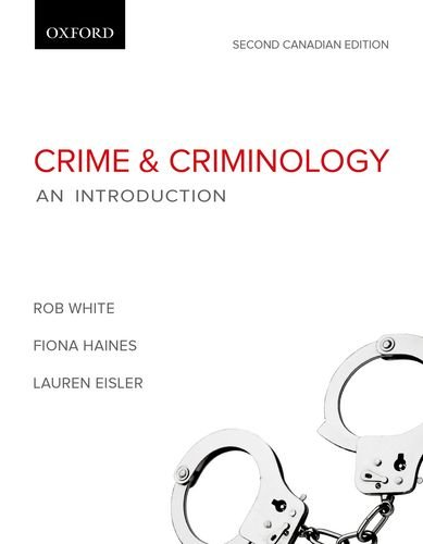 9780195446890: Crime and Criminology: An Introduction, Second Canadian Edition