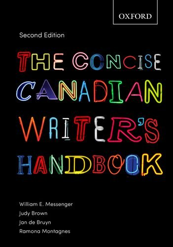 Concise Canadian Writer's Handbook: Ramona Montagnes