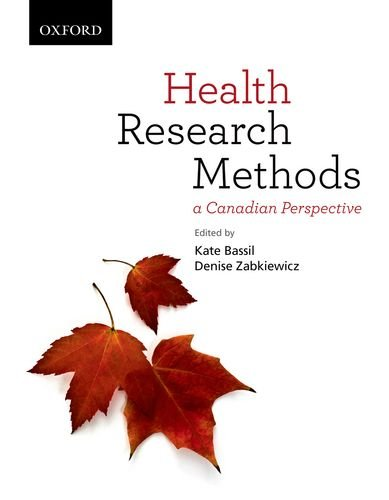 9780195447163: Health Research Methods: A Canadian Perspective