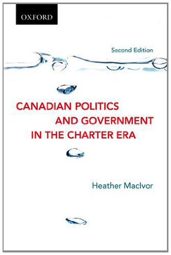 9780195447286: Canadian Politics and Government in the Charter Era