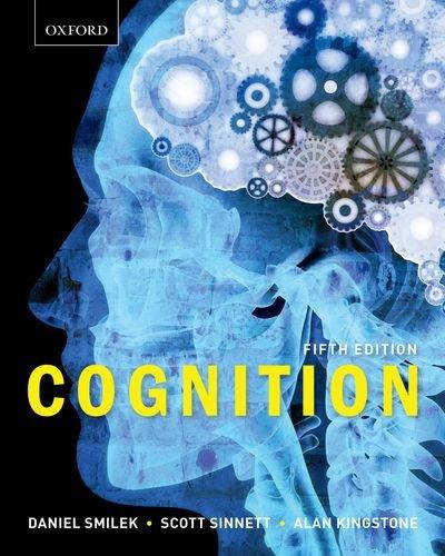 Cognition: Alan Kingstone; Daniel