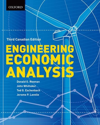 9780195447545: Engineering Economic Analysis: Third Canadian Edition [Hardcover]