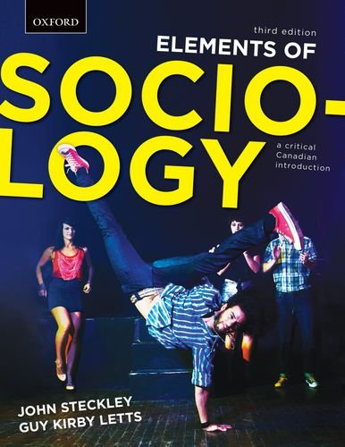 9780195448627: Elements of Sociology: a critical Canadian introduction Third Edition