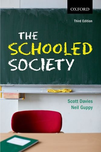 9780195449044: The Schooled Society: An Introduction to the Sociology of Education