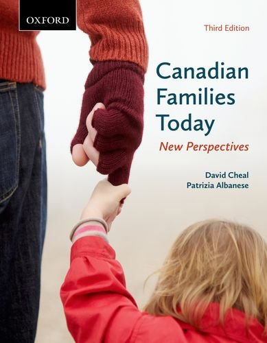 9780195449365: Canadian Families Today: New Perspectives