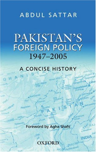 9780195471670: Pakistan's Foreign Policy: A Concise History
