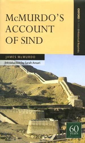 9780195472882: McMurdo's Account of Sind (Oxford in Asia Historical Reprints)