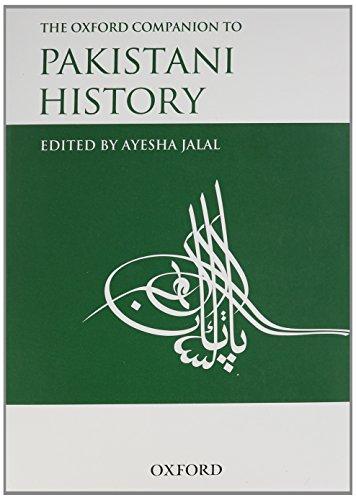 9780195475784: The Oxford Companion to Pakistani History