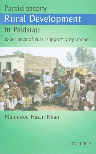 Participatory Rural Development in Pakistan: Experience of Rural Support Programmes