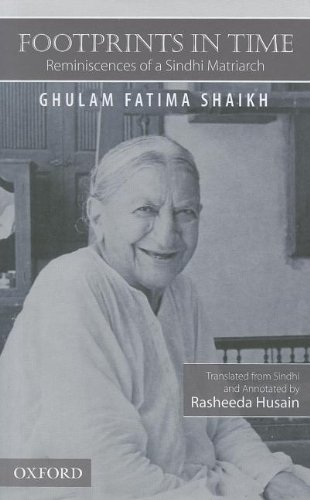 9780195478907: Footprints in Time: Reminiscences of a Sindhi Matriarch