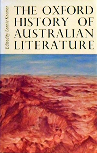 Oxford History of Australian Literature: Kramer, Leonie Judith