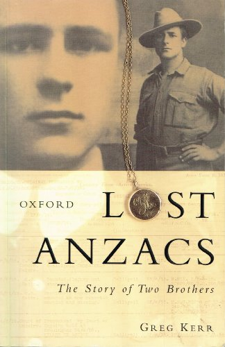 9780195506631: Lost Anzacs: The Story of Two Brothers