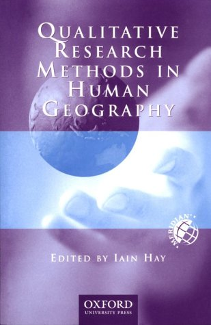 9780195507874: Qualitative Research Methods in Human Geography (Meridian: Australian Geographical Perspectives)