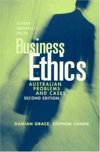 9780195507942: Business Ethics: Australian Problems and Cases