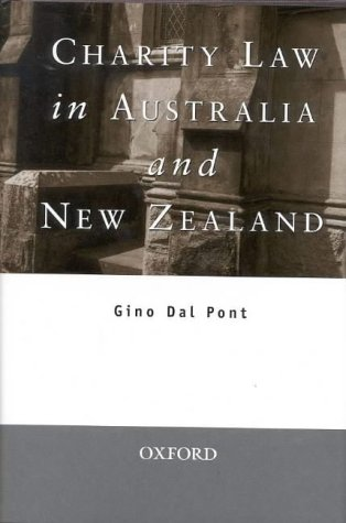 9780195509953: Charity Law in Australia and New Zealand